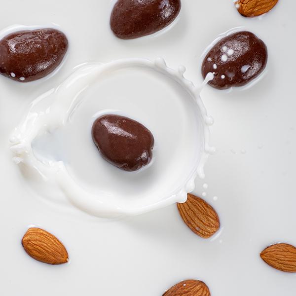 Coco Milk Covered Almonds