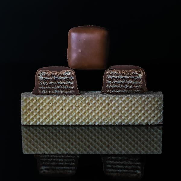 Milk Chocolate Wafer Cube