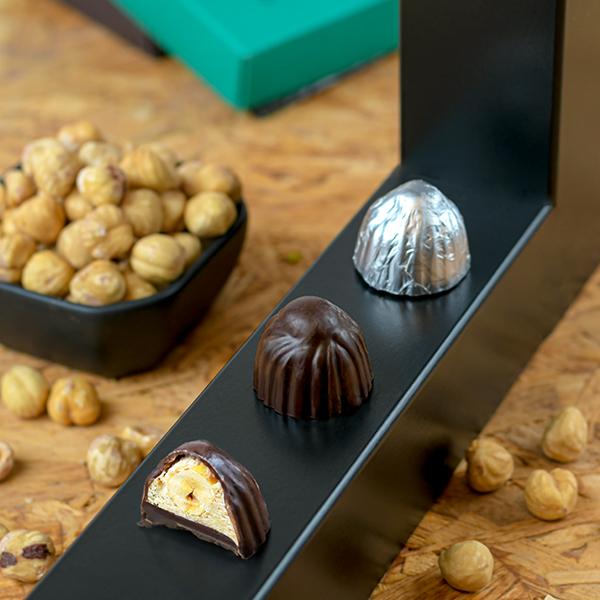Bajia Dark Chocolate with Hazelnut